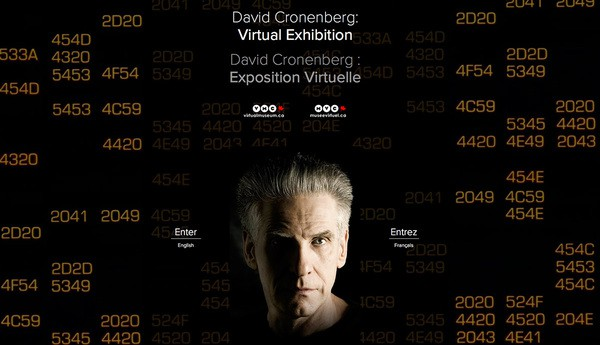 Synthescape Art Imaging for the Toronto International Film Festival-David Cronenberg: Virtual Exhibition (2014)