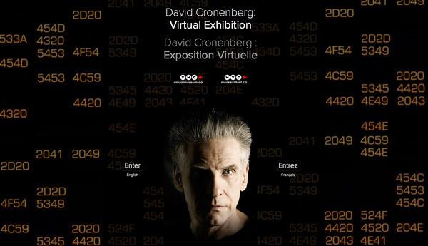 Synthescape Art Imaging for the Toronto International Film Festival-David Cronenberg: Virtual Exhibition (2014)