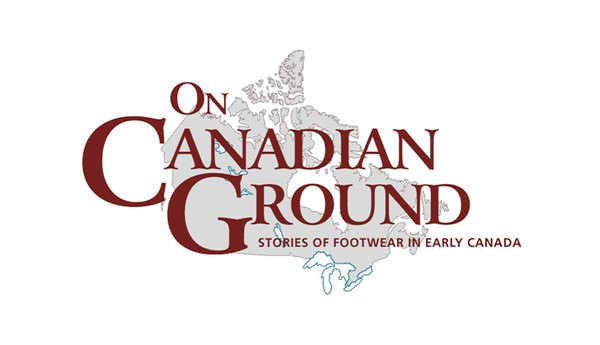 The homepage of On Canadian Ground, the logo is in the middle of the page.